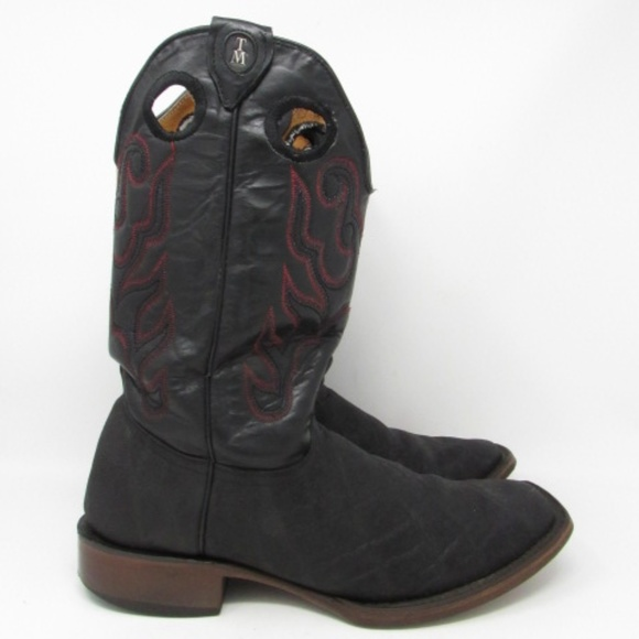 9e7b83bd1f2 🇲🇽 Tanner Mark cowboy boots mens size 10D